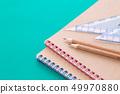 연필과 노트 49970880