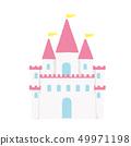 城堡的插图 49971198
