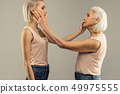 mother, daughter, female 49975555