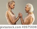 senior, mother, daughter 49975698