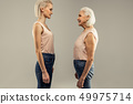 blond, female, elderly 49975714