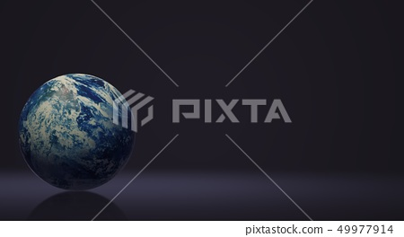 The blue planet 3d rendering  for earth day and  e 49977914