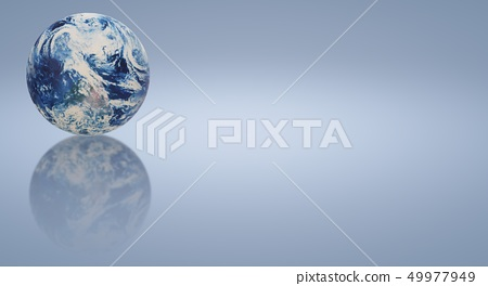 The blue planet 3d rendering  for earth day  49977949