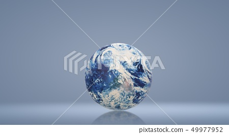 The blue planet 3d rendering  for earth day  49977952