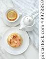 명란젓과 치즈 빵 49978859