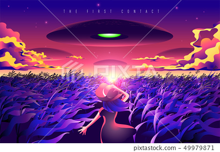 The First Contact 49979871