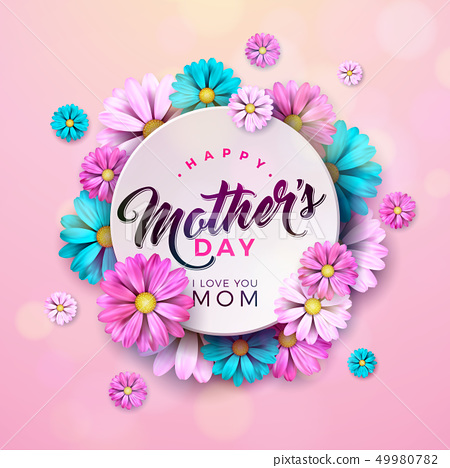 Swell Happy Mothers Day Greeting Card Design With Stock Birthday Cards Printable Opercafe Filternl