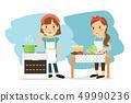 烹飪 煮菜 做飯 49990236