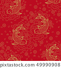 Chinese vector seamless pattern 49990908
