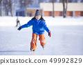 女孩去滑冰 49992829