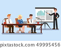 Business Conference Color Vector Illustration 49995456
