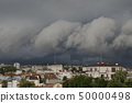 The storm in the spring time in Ruse, northern 50000498