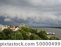 The storm in the spring time in Ruse, northern 50000499