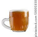 glass of beer on a white background 50005930