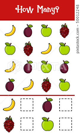 Count how many fruits 50012248