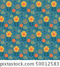 식물 패턴 50012583