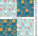 식물 패턴 50012584