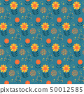 식물 패턴 50012585