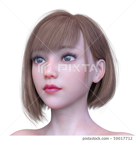 여자 얼굴 50017712