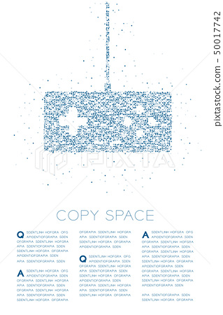 Retro Gamepad or joypad shape Particle Geometric 50017742