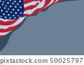 waving USA flag 50025797