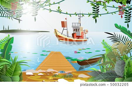 boat, fishing, fish 50032205