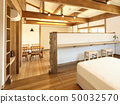 애완 동물 동거 형 디자이너 주택의 세련된 침실 50032570