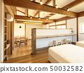 애완 동물 동거 형 디자이너 주택의 세련된 침실 50032582