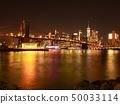 뉴욕 브루클린 브릿지와 맨하탄 50033114
