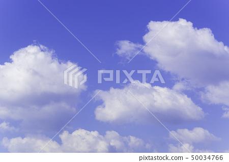 วัสดุพื้นหลังท้องฟ้าสีฟ้าท้องฟ้า 50034766