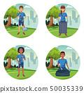 Park cleaning volunteers 50035339