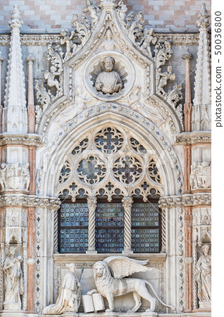 Architectural detail of Basilica of Saint Mark 50036800