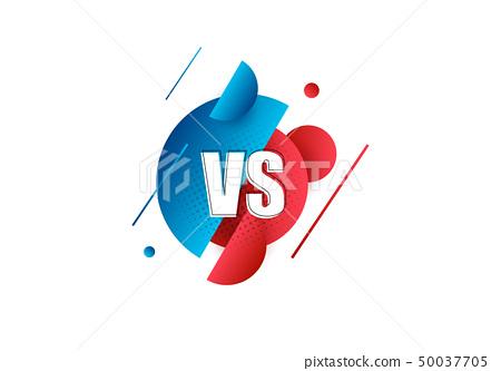 Versus Sign Vector Illustration Stock Illustration 50037705