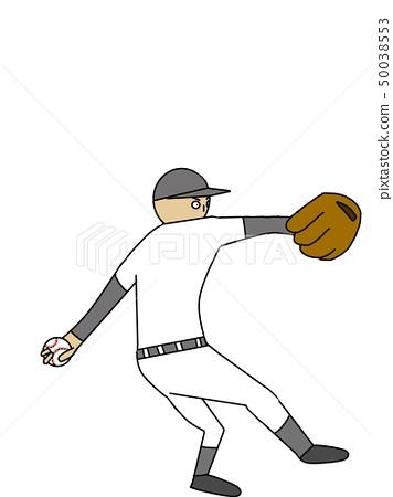 Baseball pitcher 50038553