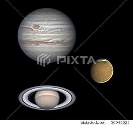當晚的柴火土星 50049023