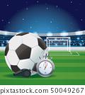 Football game and stadium 50049267