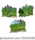 Set of nature landscapes 50049298