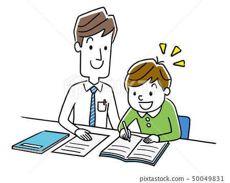 소년 공부를 가르치는 강사 50049831