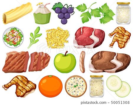Set of many food 50051308