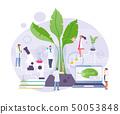 Biochemical laboratory vector 50053848