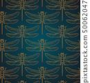 设计 蜻蜓 无缝的 50062047