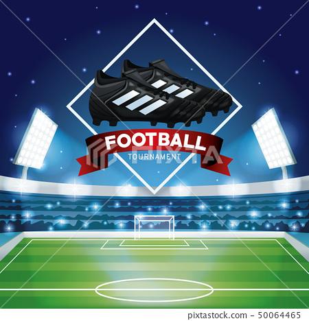 Football tournament graphic 50064465