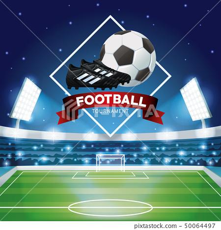 Football tournament graphic 50064497