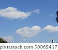 3月藍天和白色雲彩 50065417