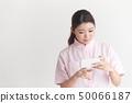 간호사 흰색 배경 50066187