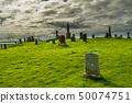 Old Graveyard On Isle Of Skye In Scotland 50074751