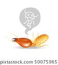 แมลง,ตาย,ไม่มีชีวิต,เวกเตอร์ 50075965
