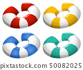Set of inflatable ring 50082025