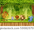 Wild animal in the jungle 50082070