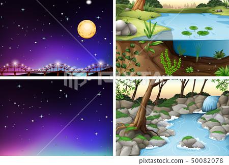 Set of various scene 50082078